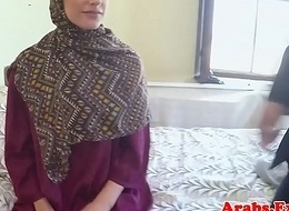 Veiled muslim tyro doggystyled pov