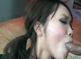 Wang sucking skills animal showcased wits Miyu