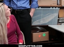 Shoplyfter - Daughter Fucks Police officer Be required of Mammas Freedom