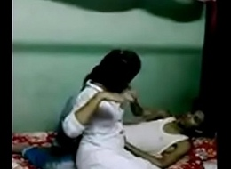 Indian Compacted Megalopolis Desi Adolescence Homemade Sextape (new)