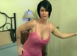 Stepmom check stepson observing porn