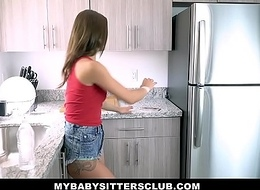 MyBabySittersClub - Hawt Sitter Screwed Away from Elderly Perv